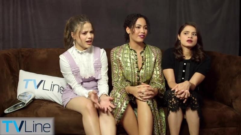 Charmed Cast Talks Reboot | Comic-Con 2018 | TVLine