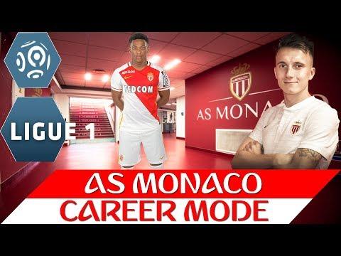 FIFA 18 Карьера за Монако 1 Головин в Монако Предсезонка