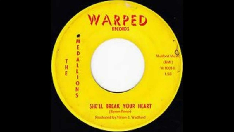 The Medallions - She'll Break Your Heart
