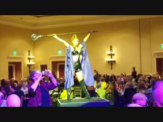 Caesars Palace dinner celebration