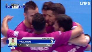 Ríos Renovables Zaragoza - Palma Futsal. Jornada 29