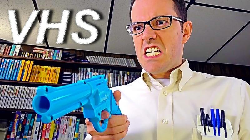 Angry Video Game Nerd 157 - Грязный Гарри - VHSник