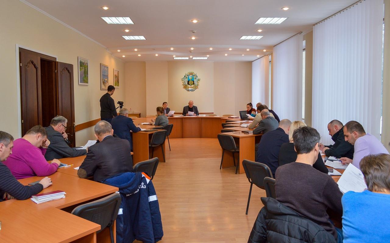 В Донецке состоялась штабная тренировка органов управления и сил территориальной подсистемы