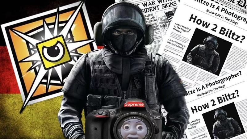 Germany Camera Guy In Rainbow Six Siege