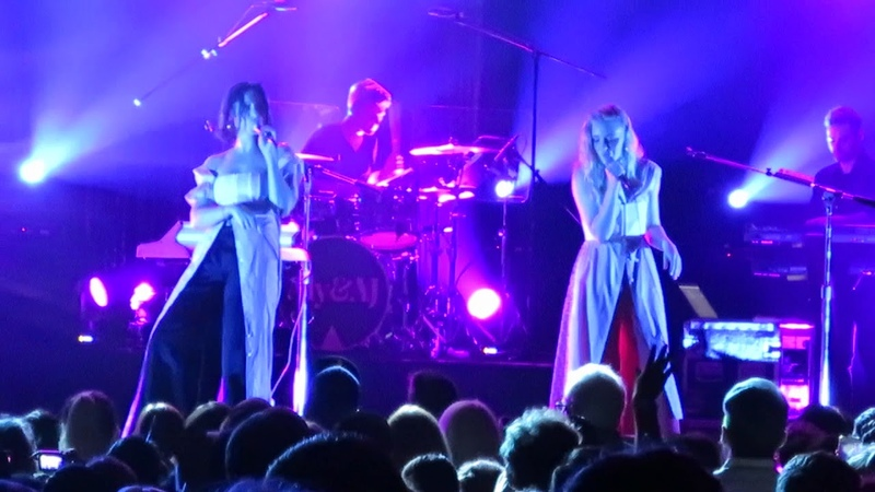 Aly and AJ Sing Promises Live House of Blues Anaheim