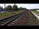 Прибытие ретро поезда на ст Кулой