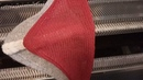 Бактус способом на убавках с применением наборной гребенки и незаметным соединением