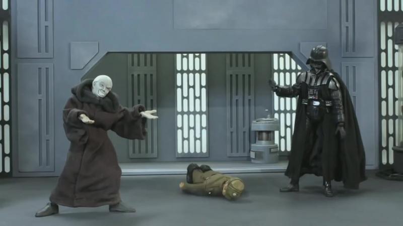 Дарт вейдер наступает) (хорошее настроение, юмор, смешное видео, звездные войны, Хан Соло, изгой-один, ситх, джедаи, война).