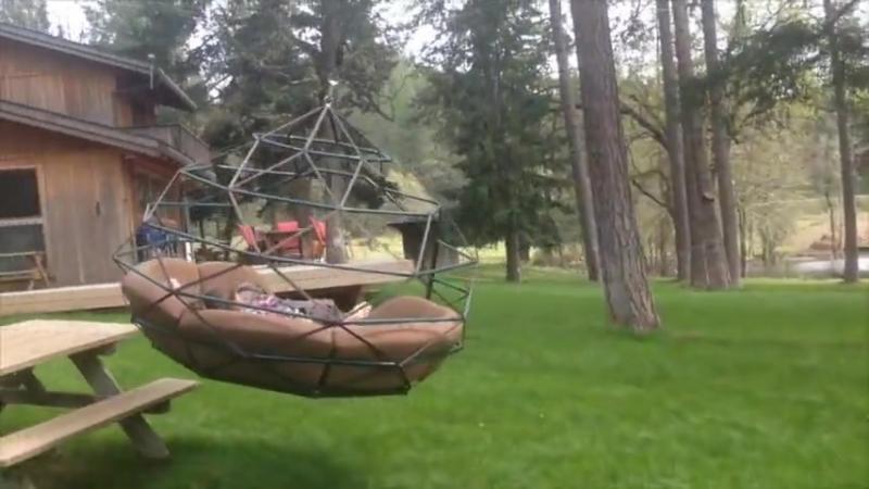 Идеальные садовые гамак-качели