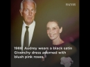 Givenchy and Audrey Hepburn had a decades long bond that shaped both of their