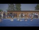 Открытие летнего бассейна PARUS medical resortspa
