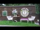Шикарный двор Роскошная терраса Частный дом
