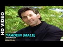 Yaadein Title Track Yaadein Hariharan Jackie Shroff Hrithik Roshan