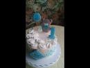 Торт с пряничными топерами🐻