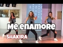 Me Enamoré Shakira Easy Fitness Dance Choreography Baile Coreografia