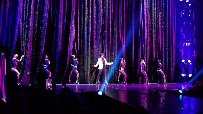 Ricky Martin 4k Luck be a lady/The lady is a tramp! 05/23/2018 (All In)Park Theater at Monte Carlo