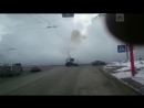 Трубу с кипятком прорвало в Кемерово