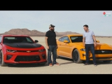 Лоб в Лоб 98: Chevrolet Camaro SS 1LE против Ford Mustang GT