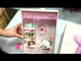Розовый альбом для девочки от рождения до первого класса