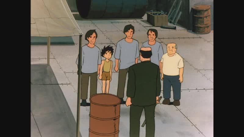 Конан - мальчик из будущего - 09-10 - Спасательная база - Доктор Лао