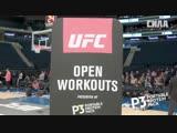UFC 230 Open Workout Recap