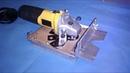 Essa ferramenta ficou top fresadora de junção caseira usando esmerilhadeira