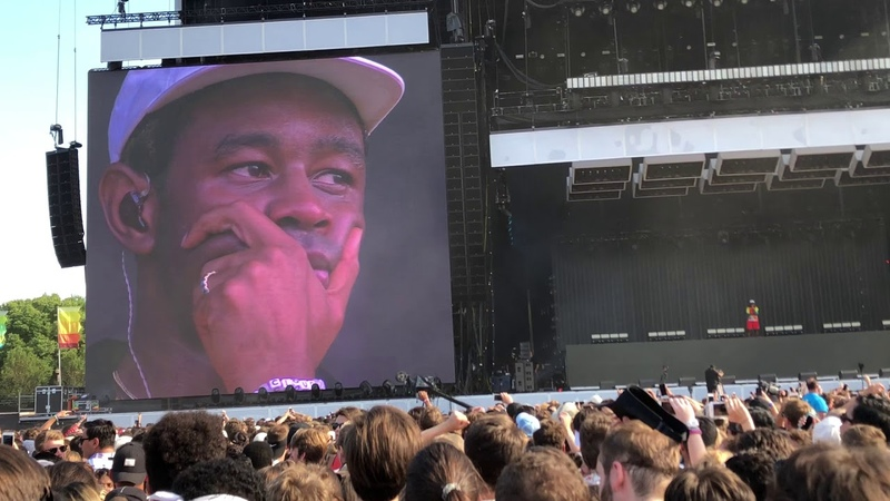 Who Dat Boy Tyler calls out crowd Tyler the Creator Live at Lollapalooza 2018 Day 2 8 3 18