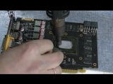 [CoRE] Устраняем перегрев видеокарты NVIDIA GTX 560 ti. Самый сложный случай. Снятие крышки с GPU