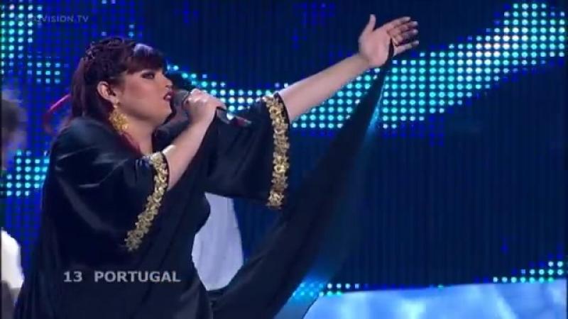 13 Vânia Fernandes Senhora Do Mar Negras Águas Portugal Live 2008 Eurovision Song Contest
