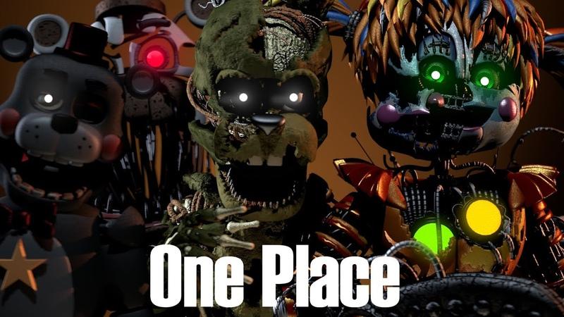 FNaF-SFM | One Place | CG5-Labyrinth [REMAKE]