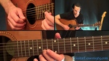 A Sky Full of Stars Guitar Lesson - Coldplay