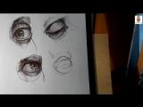 Как быстрее научиться рисовать глаза