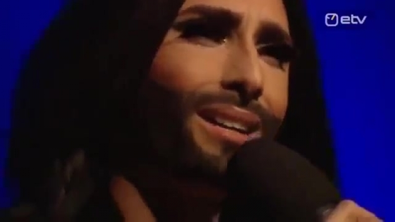 Conchita Wurst interview for ETV, 30.11.2013