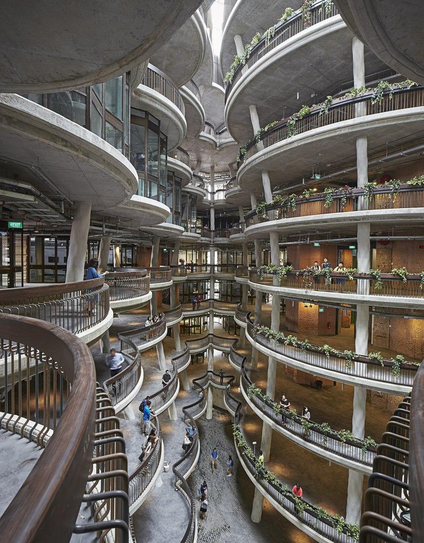 NTU learning hub, Singapore