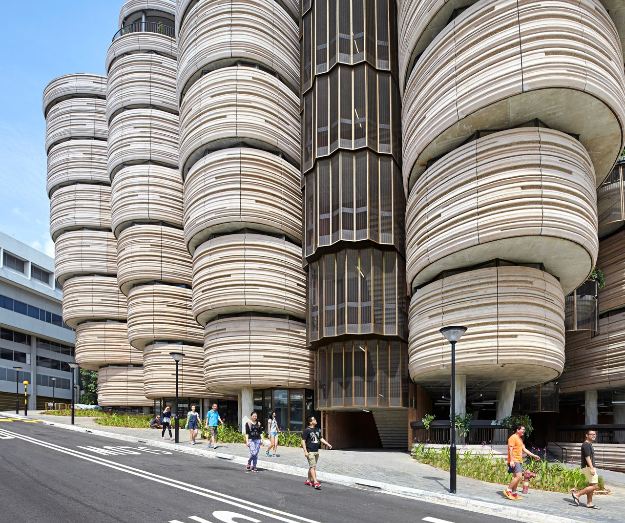 NTU learning hub, Singapore