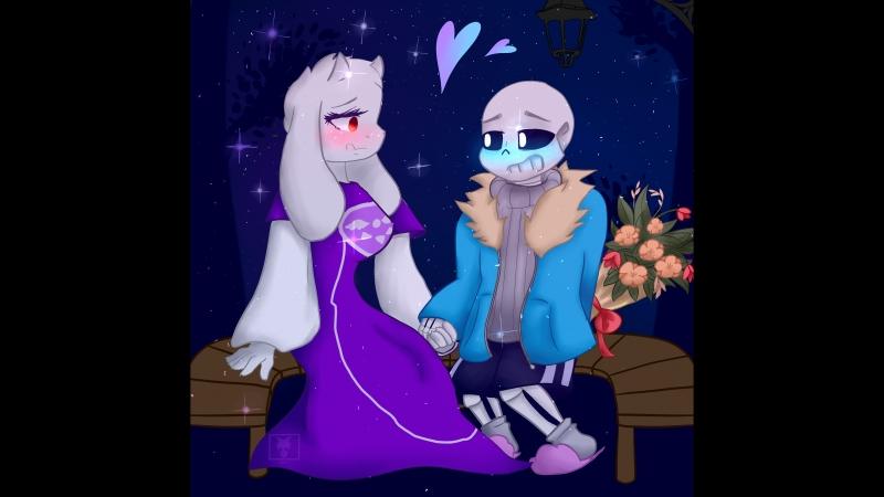 [Undertale]SPEEDPAINT-Lovely Night (Soriel)