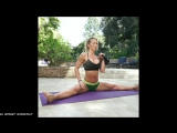 Perfect Workout With Beautiful Women Hard Training - Strong  Flexible Zuzka Light