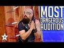 MOST DANGEROUS AUDITION on Georgia's Got Talent 2017 | Got Talent Global