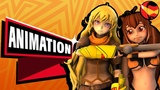 Yang and Makoto Team Up In Blazblue Crosstag Battle