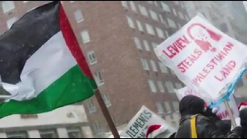 A New York, un magasin de l'apartheid contraint de fermer grâce à la mobilisation ! BoycottIsrael BDS