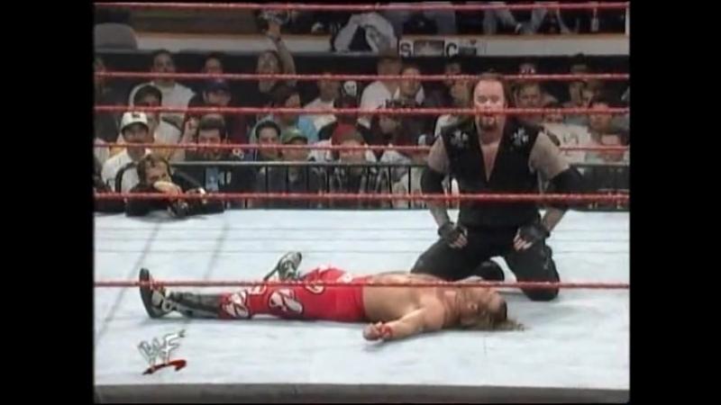 Шон Майклз против Гробовщика — Матч с гробами [Wrestling Home]