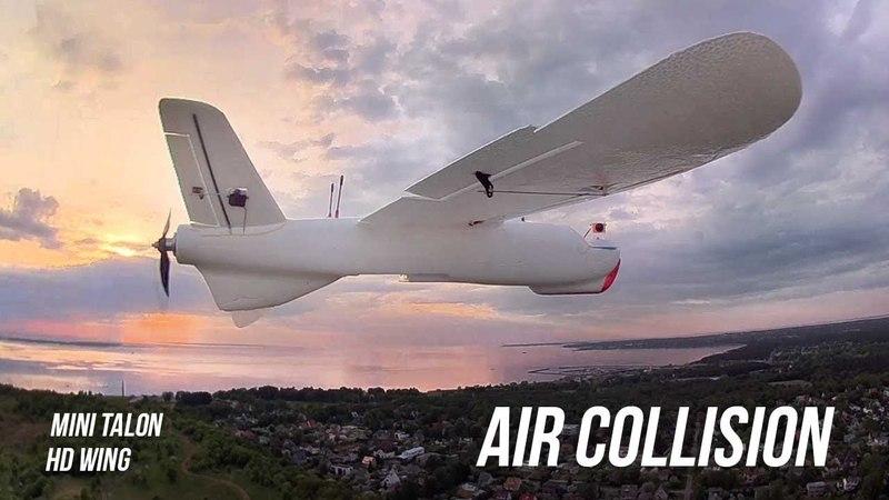 AIR COLLISION | CRASH | MINI TALON vs HD WING