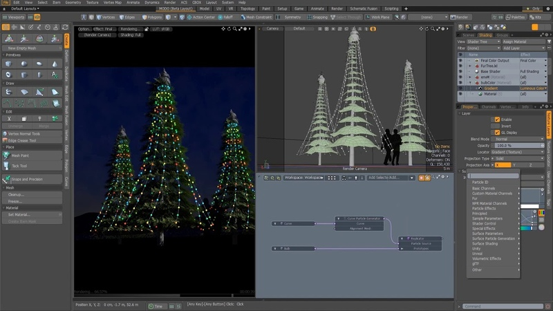 MODO 12.1 Rendering And Rigging Enhancements