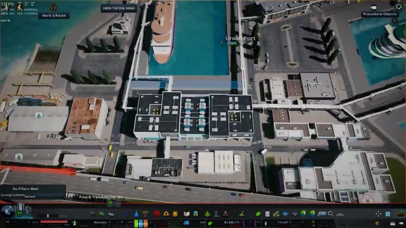 PHTN Gaming Cities Skylines Realistic Harbour Westdale EP33 4K