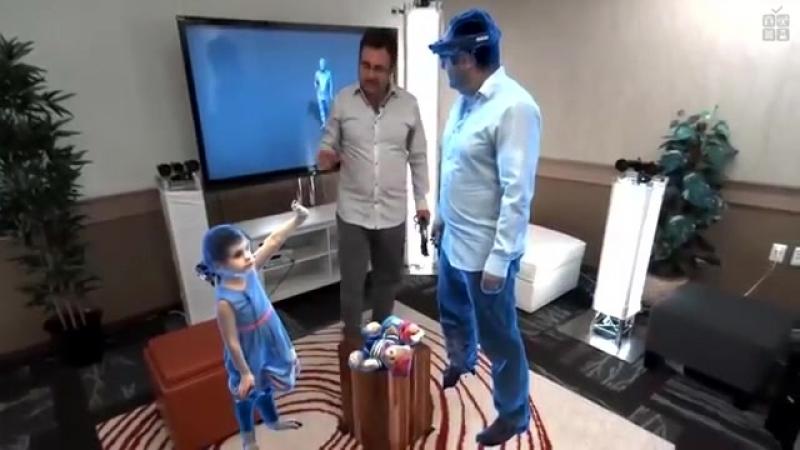 Голопортация (виртуальная 3D-телепортация в реальном времени)