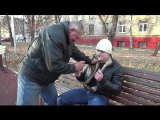 One day of russian satanic skinhead _ день из жизни русского сатаник скина