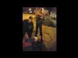 Быдло против вооружённой полиции / драка