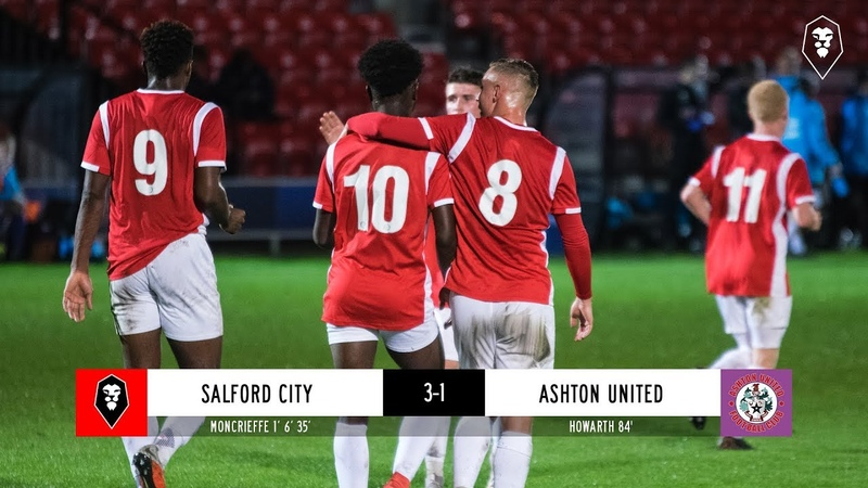 Salford City 3-1 Ashton United - Manchester Premier Cup - Round of 16