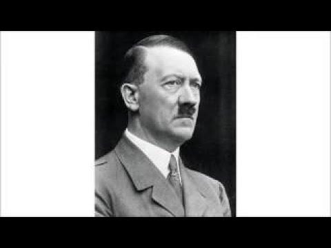 Adolf Hitler Deutschland gegen die Neue Weltordnung Rede im Münchener Löwenbräukeller, 194