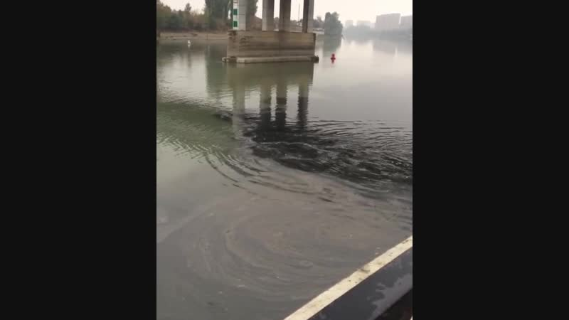 Что-то нехорошее и темное течёт под Тургеневским мостом
